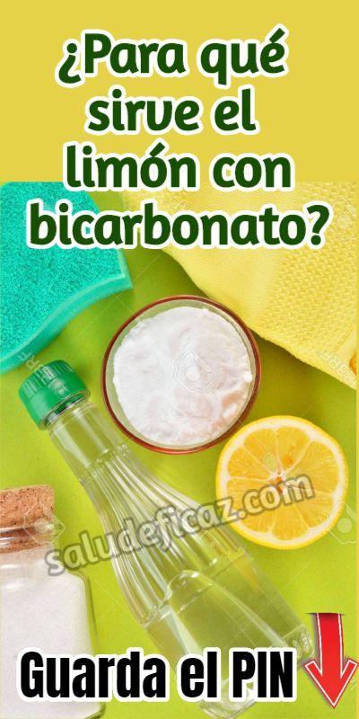 Agua de limon y bicarbonato para adelgazar