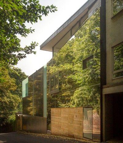 Mirror House Swains Lane Mirror House Architecture House