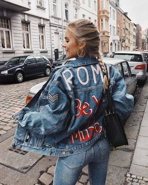» 10 maneiras de usar jaqueta jeans feminina - Charme-se CLICA NA FOTO #jaquetajeans #jaquetafeminina #jaqueta #dicasdemoda #modafeminina