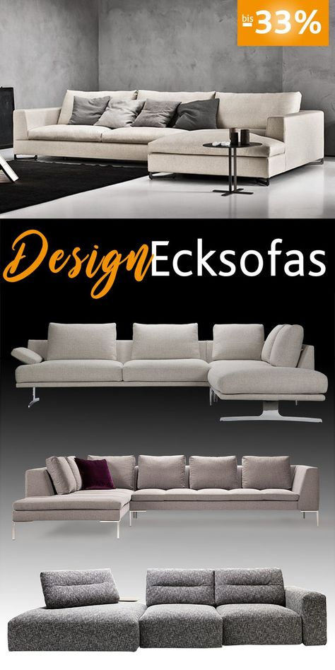 High Quality Sophisticated Designer Corner Sofas In Many