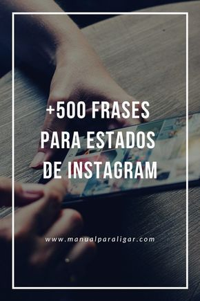 500 Frases Para Estados De Instagram Métodos Para Ligar Instagram Photo Lockscreen