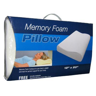 Cool Memory Foam Pillow Cushion