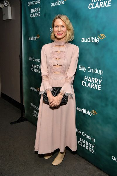 Naomi Watts attends the 'Harry Clarke' opening night at the Minetta Lane Theatre.