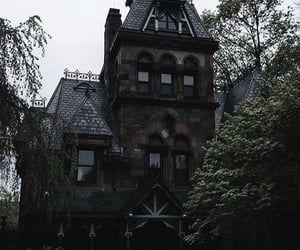 Darkness Dark Academia And Victorian House Image Dark House Dark Green Aesthetic Gothic House