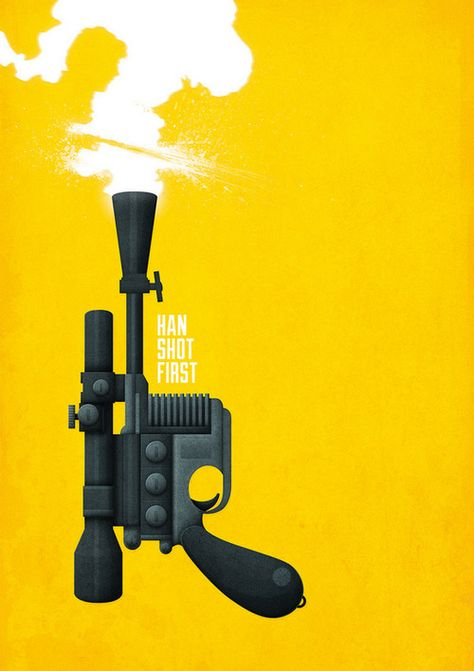 Han Shot First!  by Fitz Fitzpatrick