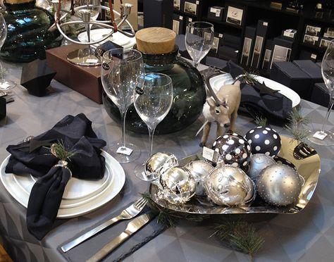 Joulupöydän kattausideat