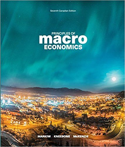 Test Bank For Principles Of Macroeconomics 7th Canadian