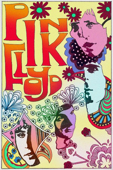 Pink floyd poster, looks like handmade or custom type. Rock Posters, Band Posters, Concert Posters, Music Posters, Art Pink Floyd, Pink Floyd Poster, David Gilmour, Musica Punk, Concert Rock