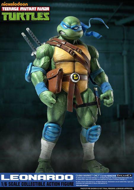 NEW DreamEX 1//6 action figure toys Teenage mutant ninja turtles Leonardo Raphael
