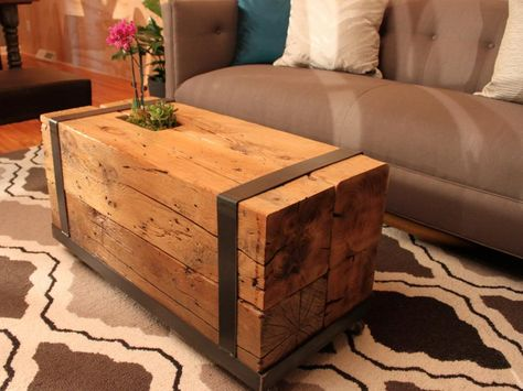 Find inspiring ideas and instructions on how to turn vintage accessories and salvaged materials into functional furniture.
