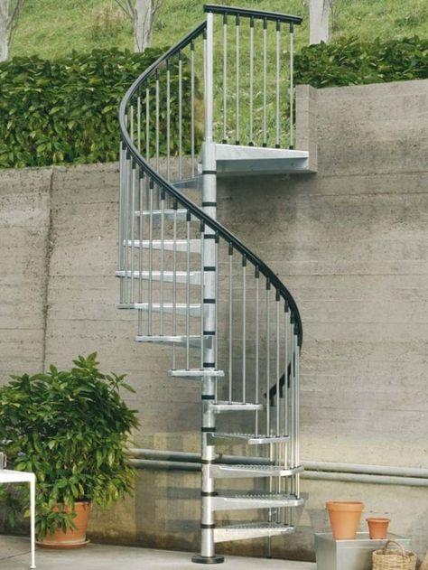 59 fantastiche immagini su Staircases   Spiral   Scale ...