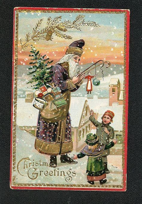 pinelaine gitzel on christmas cards iv  vintage