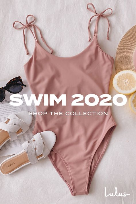Swim is in! Our swim collection is full of cute suits for poolside lounging and backyard bronzing. (Dont forget the SPF. Cute Casual Outfits, Stylish Outfits, Swag Outfits, Girl Outfits, Summer Outfits, Cute One Piece Swimsuits, Malva, Cute Bathing Suits, Bronze