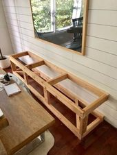Diy Built In Dining Bench With Storage Breakfast Nook Banquette