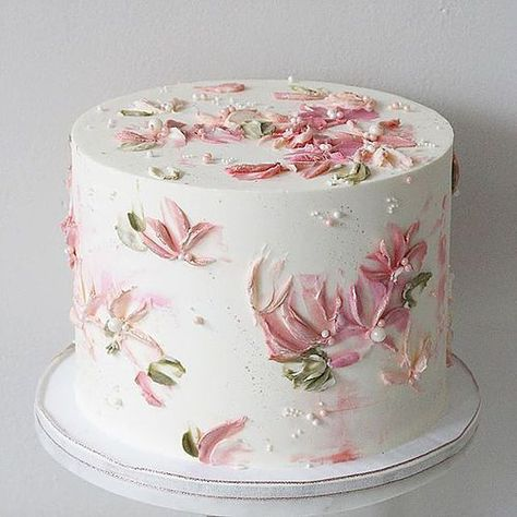 Pink Buttercream Flowers Cake Cake Decorating Ideas Wedding Cake Prices Flower Cake Floral Wedding Cakes