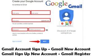 Gmail Sign Up Create Gmail Account On Mobile Device And Desktop Web Browser Techsovibe Gmail Sign Up Gmail Sign Teacher Tech