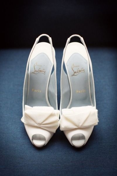 Fancy wedding shoes: http://www.stylemepretty.com/2011/09/26/santa-barbara-wedding-by-max-wanger-photography-beth-helmstetter-events/ | Photography: Max Wagner - http://maxwanger.com/