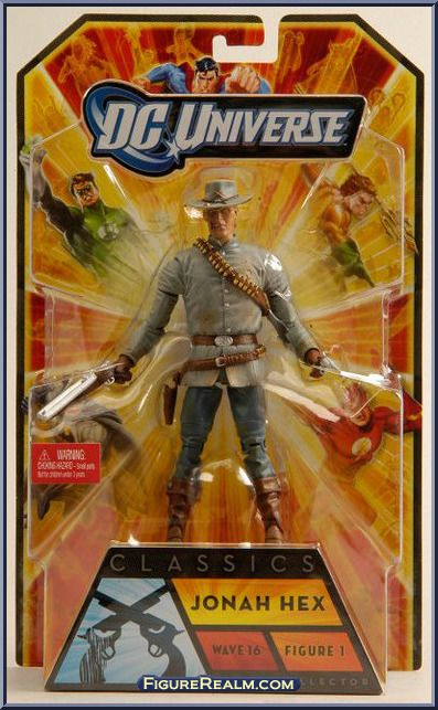 DC UNIVERSE CLASSICS  SERIES WAVE 16 JONAH HEX FIGURE WITH PISTOL AND RIFLE