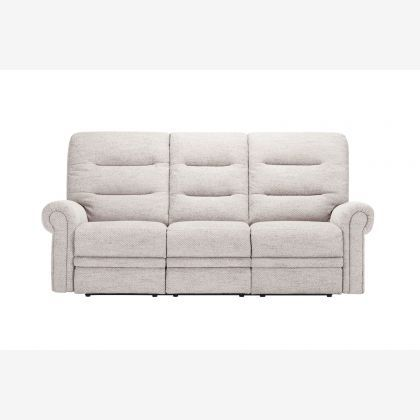Marvelous Eastbourne Electric Reclining 3 Seater Sofa Charcoal Pabps2019 Chair Design Images Pabps2019Com