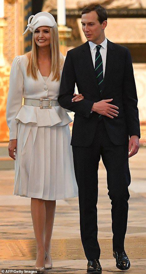 Melania Trump Wears A Military Themed 650 Burberry Blouse Ivanka Trump Style Trump Fashion Ivanka Trump Outfits