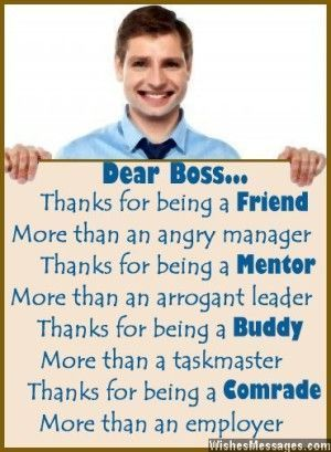 Thank You Poems For Boss Notes To Say Thank You Boss Birthday Quotes Thank You Poems Birthday Message For Boss