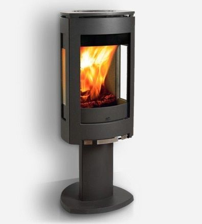 Jotul F 370 Wood Stove In Stock Model Only Modern Wood Burning