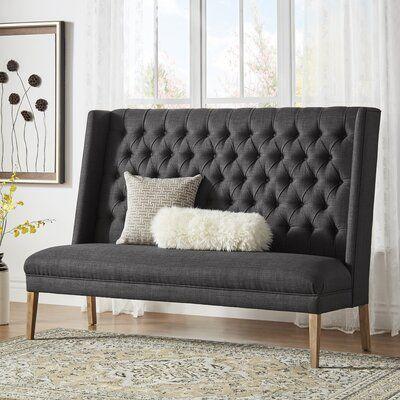 Birch Lane Heritage Kaitlin Tufted Upholstered Bedroom Bench