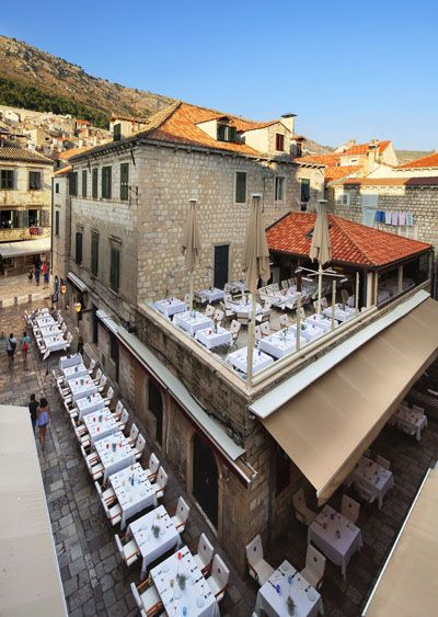Fish Restaurant Proto Dubrovnik Traditional Autenthic Restaurant Dubrovnik Dubrovnik Old Town Restaurant Fish