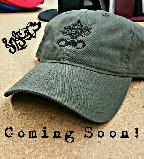 Coming Soon! JMJCat3 Catholic Head Gear at www.jmjcat3.com