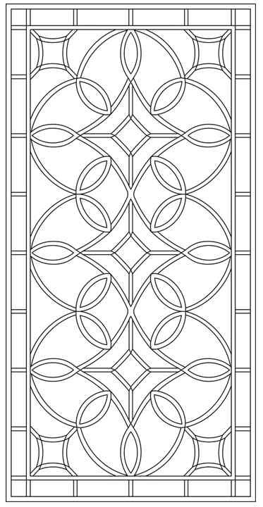 Design Library Tableaux Decorative Grilles For Residential Design In 2020 Stained Glass Patterns Decorative Grilles Stencil Patterns