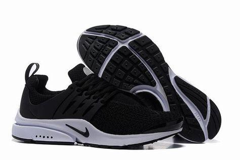 new york fe545 b34f8 chaussures running homme poids lourd nike air presto noir et blanche homme  fly