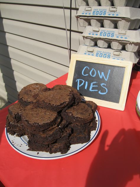 """""""cow pies"""" for cowgirl party"""
