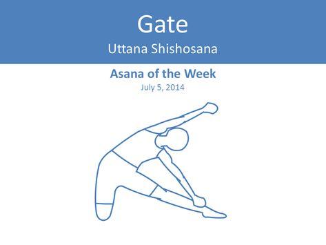 yoga asana of the last week gate pose  yoga jnana