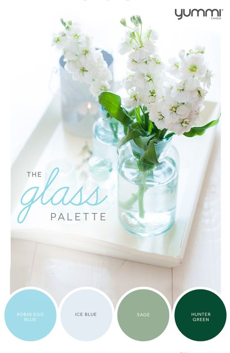 10% OFF The Glass Palette! Use Promo Code GL10 At Checkout. Shop Now at www.YummiCandles.com