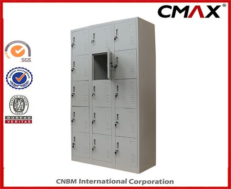Hot Item Steel Locker 15 Doors Locker Metal Dormitory Gym Wardrobe Cube Lockers Cmax Sl15 001 In 2020 Steel Locker Lockers Door Locker