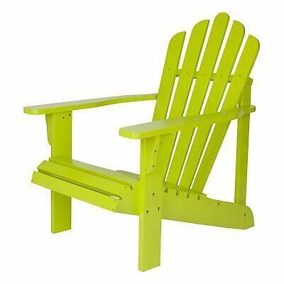 Shine Company Westport Adirondack Chair Lime Green Adirondack Chair Wood Adirondack Chairs Patio Decor