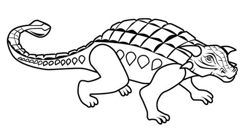 Plesiosaurus Coloring Page Dinosaur Pinterest Website - copy animal dinosaurs coloring pages