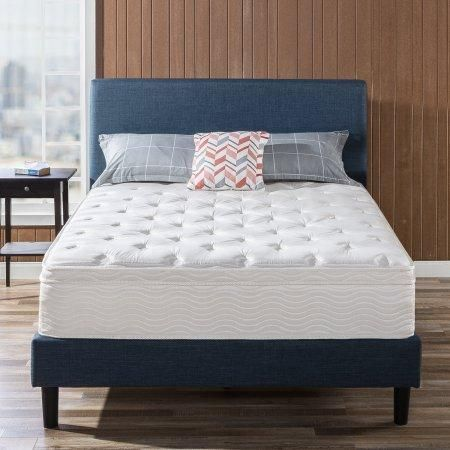 Slumber 1 12 Inch By Zinus Spring Support Queen Mattress Luxury Mattresses Mattress King Size Mattress