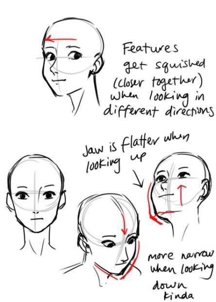 68 Trendy Drawing Reference Face Angles Animation Drawing Tips Drawing People Drawing Tutorial