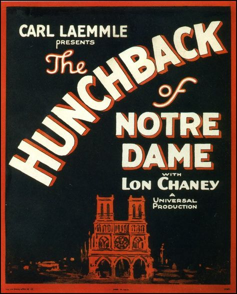 "1923's ""The Hunchback of Notre Dame"""