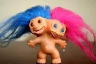 Two-headed troll.