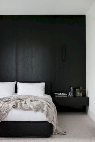 48 Modern Tiny Bedroom With Black And White Designs Ideas For