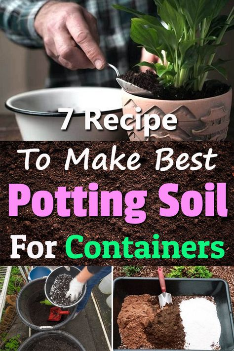 Homemade Potting Soil Recipes To Grow Everything In Containers