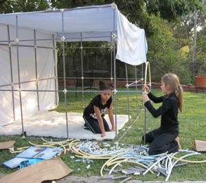 Fort Magic - PVC kit to build the skeleton of forts. So fun! | fort kit | Pinterest | Forts Cool tools and Pvc joints & Fort Magic - PVC kit to build the skeleton of forts. So fun ...