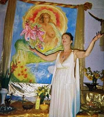 Janet Farrar (born Janet Owen on 24 June 1950) is a British teacher and author of books on Wicca and Neopaganism. Along with her two husbands, Stewart Farrar and Gavin Bone, Farrar has published