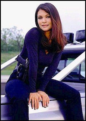 """Nia Peeples in """"Walker Texas Ranger"""" - 1999-2001"""
