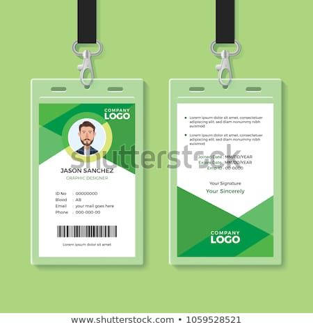 Office Id Card Template Perfect For Any Types Of Agency Corporate Offices And Companies You Can Also Used Id Card Template Card Design Identity Card Design