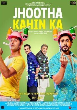 Download Jhootha Kahin Ka 2019 Pre DVDRip 300MB Hindi 480p