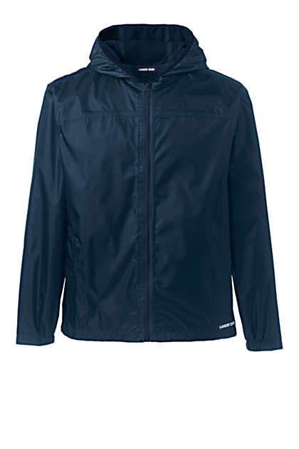 Men's Waterproof Windbreaker Jacket | Lands' End