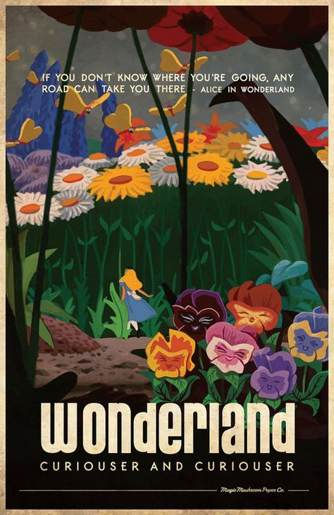 Where to Find Vintage Style Disney Posters - Persia Lou